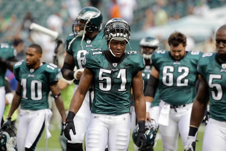 2011 Philadelphia Eagles walk off field