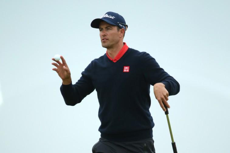 Adam Scott at The Open Championship
