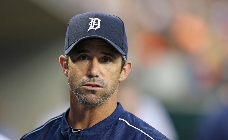 DETROIT, MI - JULY 22: Detroit Tigers manager Brad Ausmus #7 watches the action during the sixth inning of the game against the Seattle Marinerson July 22, 2015 at Comerica Park in Detroit, Michigan.