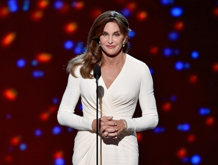 Caitlyn Jenner as the recipient of the Arthur Ashe Award for Courage
