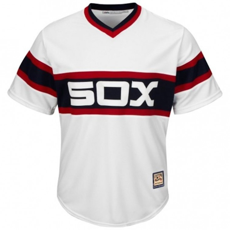Chicago White Sox throwback jersey
