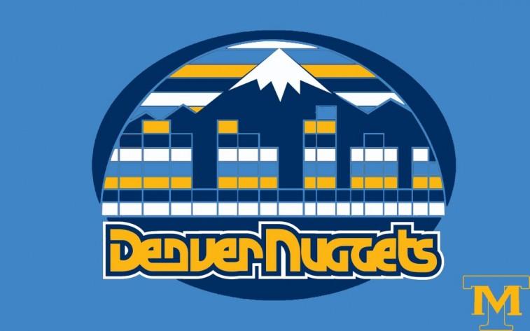 Denver Nuggets mashup logo