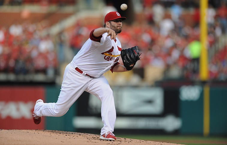 Lance Lynn of the St. Louis Cardinals