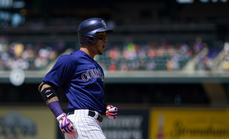 Carlos Gonzalez looks to have another big year.