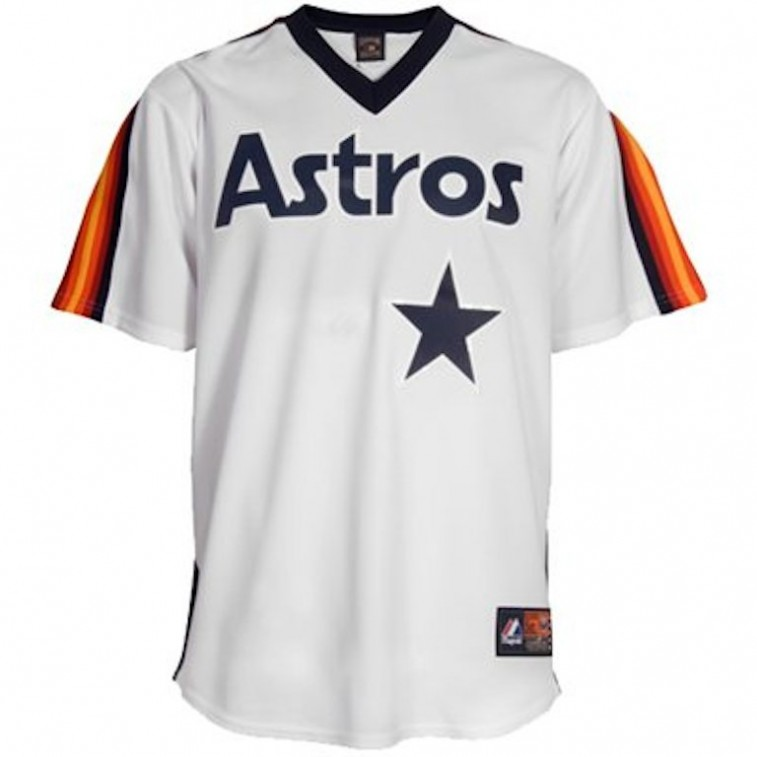 Houston Astros throwback jersey