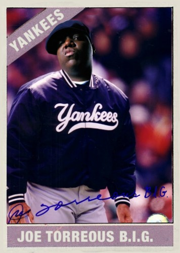 Biggie Smalls mashed up with Joe Torre