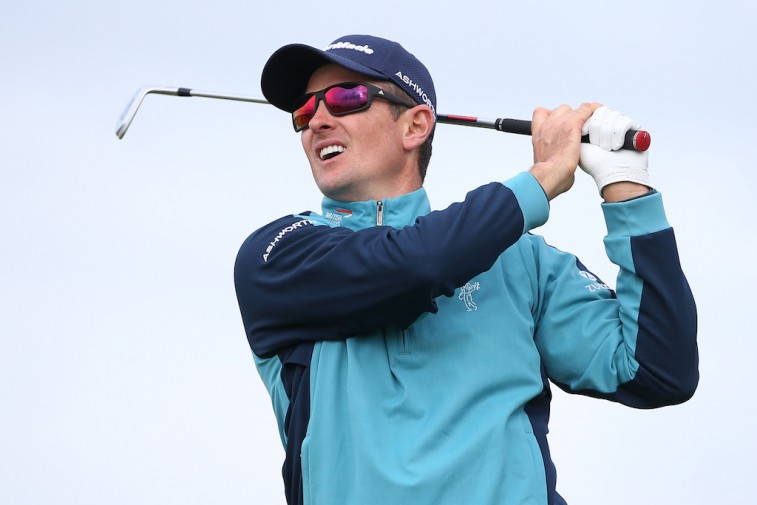 Justin Rose at The Open Championship