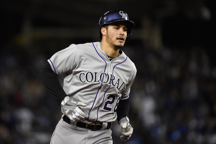 Nolan Arenado of the Colorado Rockies