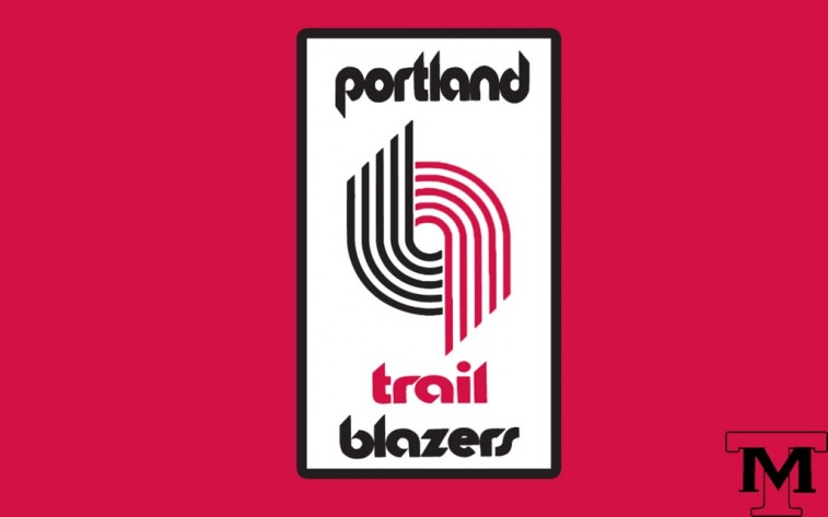 Portland Trail Blazers mashup logo