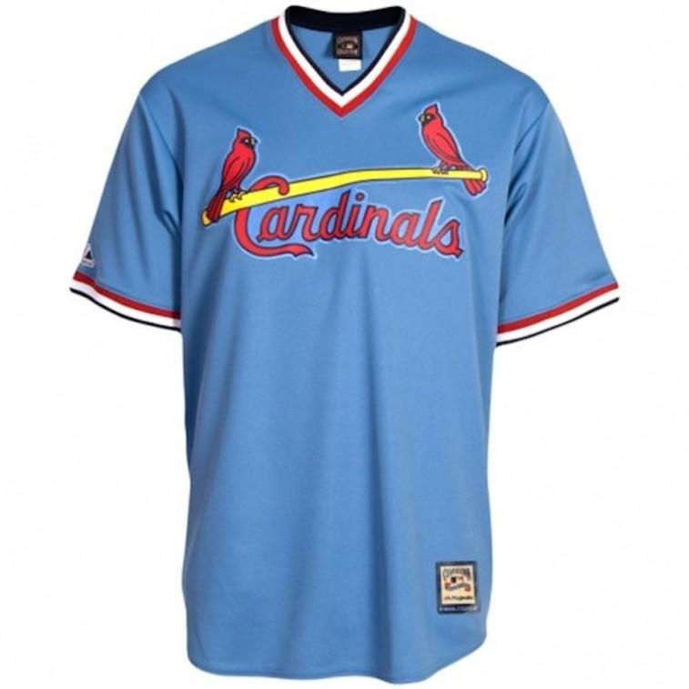 St. Louis Cardinals throwback jersey