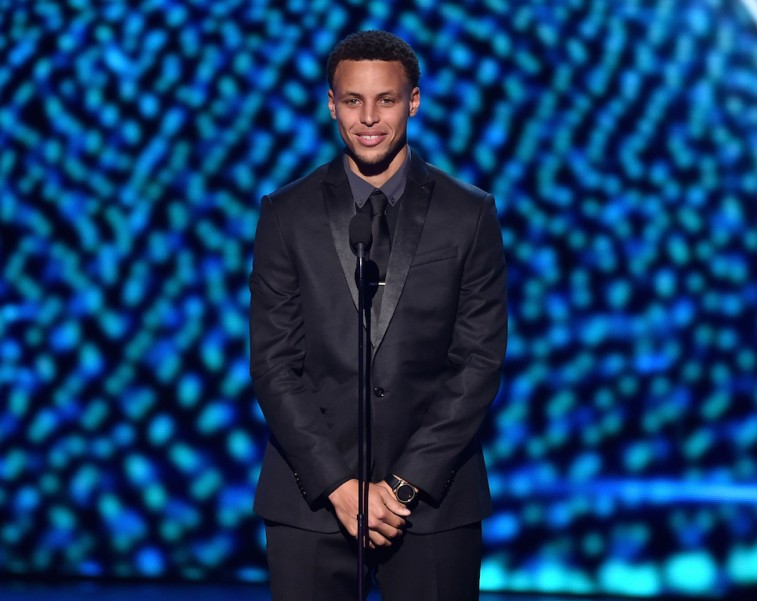 Stephen Curry at the 2015 ESPYs
