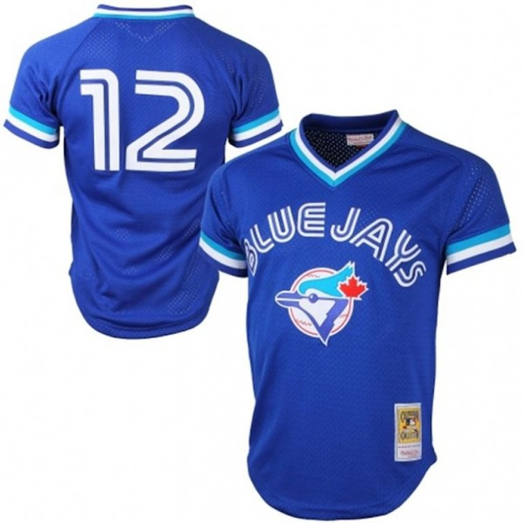 Toronto Blue Jays throwback jersey