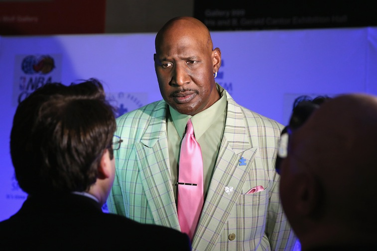 Darryl Dawkins attends the Autism Speaks Tip-off For A Cure 2015