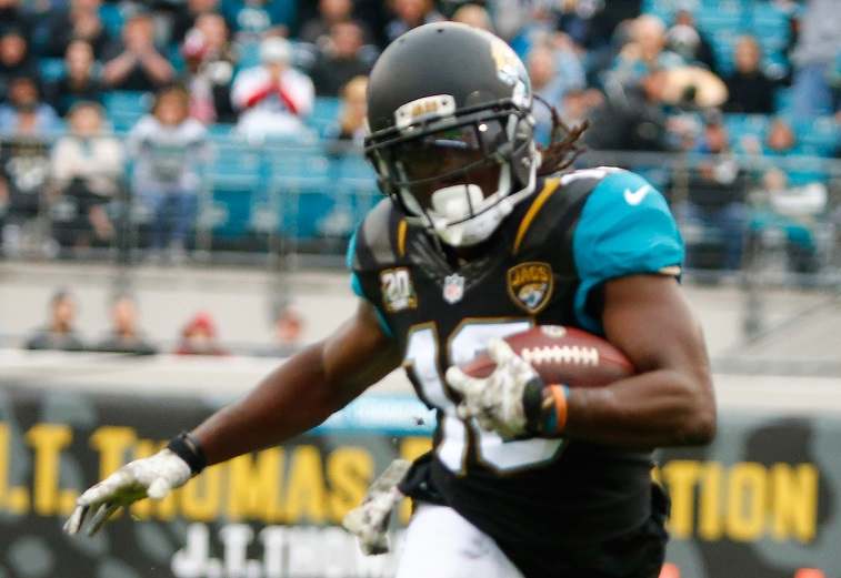 Denard Robinson during the game at EverBank Field on December 7, 2014 in Jacksonville, Florida.