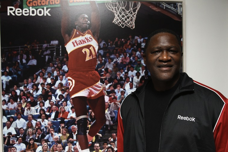Dominique Wilkins at a Reebok event