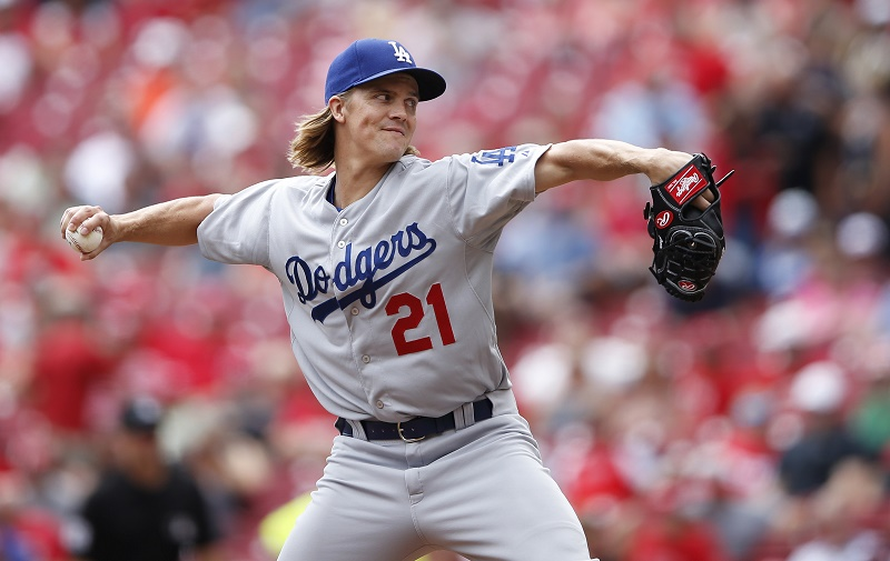 Greinke  Joe Robbins/Getty Images