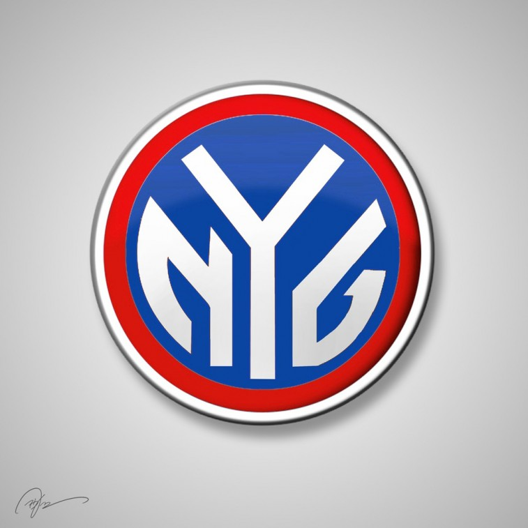 New York Giants and New York Knicks mashup