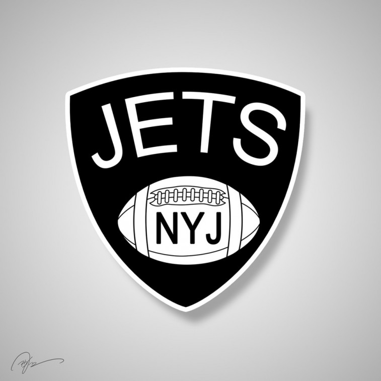 New York Jets and Brooklyn Nets mashup