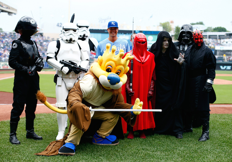 Kansas City Royals hold 'Star Wars' day