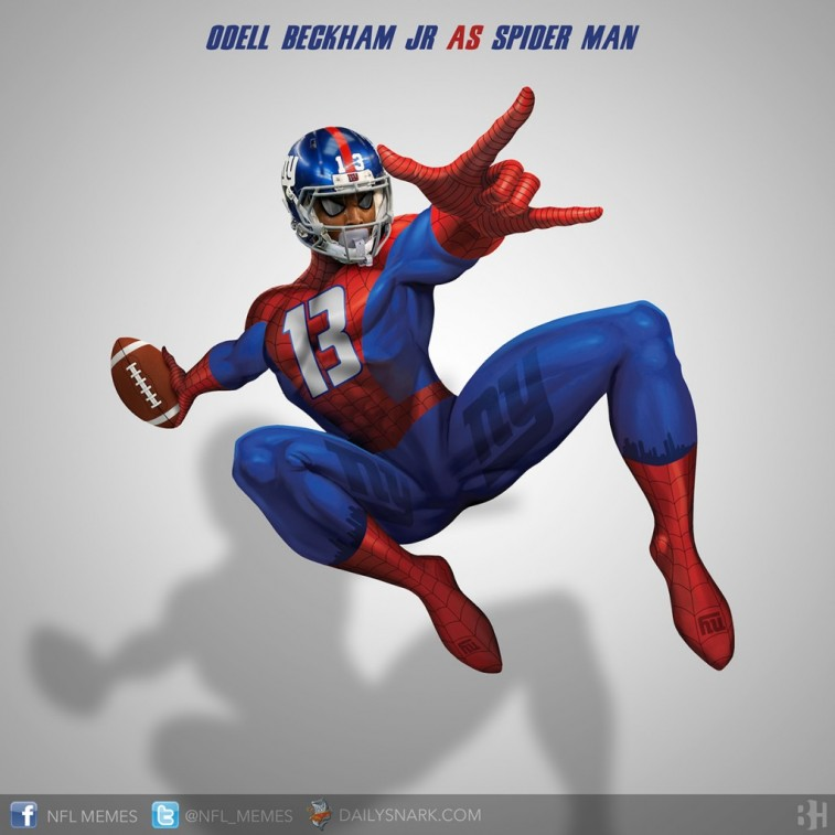 Odell Beckham Jr. as Spider-Man