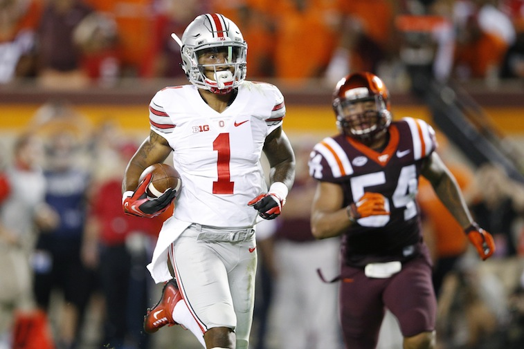 Braxton Miller runs for a touchdown against Virginia Tech