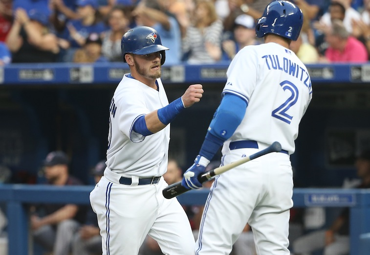 Josh Donaldson and Troy Tulowitzki