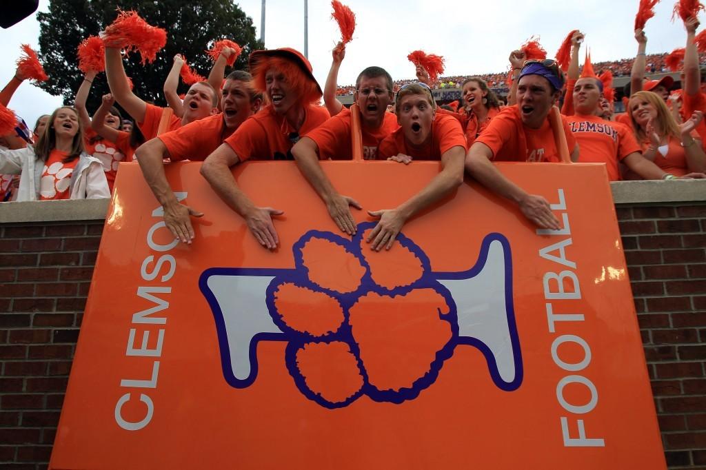 Clemson Tigers football fans