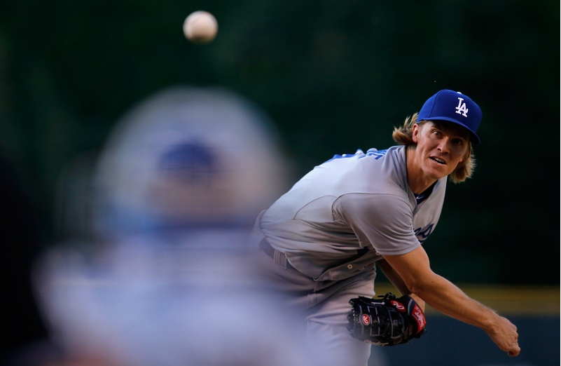 Los Angeles Dodgers v Colorado Rockies - Game Two