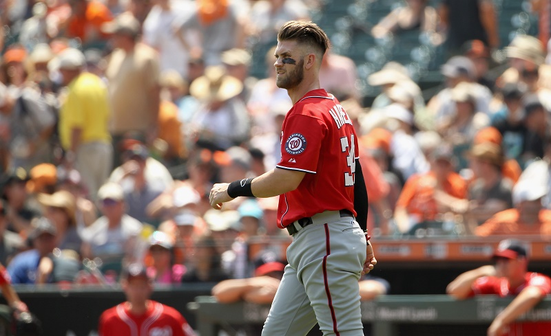 Ezra Shaw/Getty Images Bryce harper
