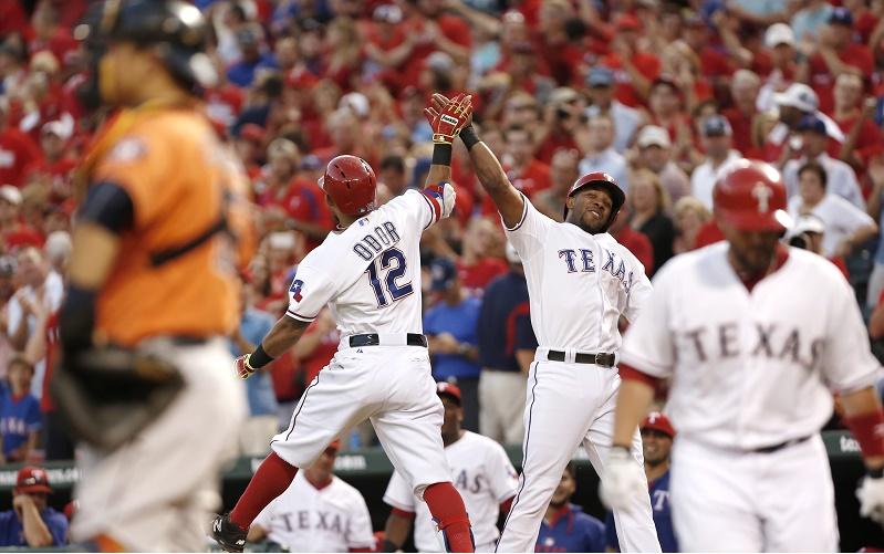 Houston Astros v Texas Rangers