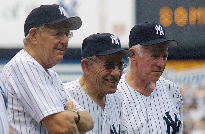 Former 1961 World Series champion New York Yankees