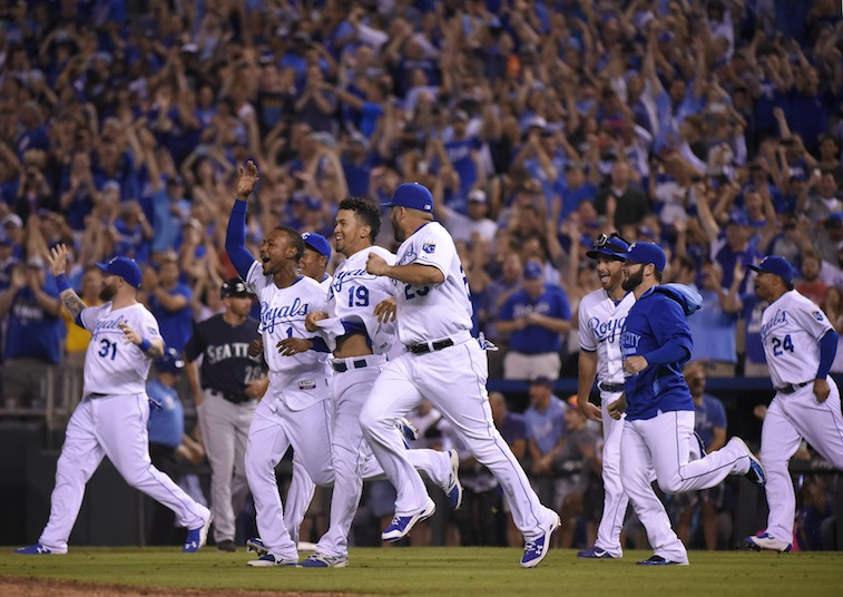 Kansas City Royals win the division