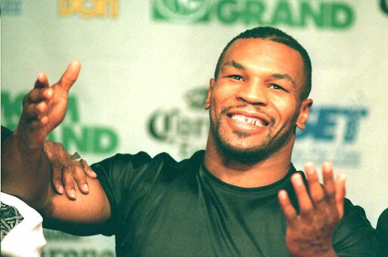 US boxer Mike Tyson