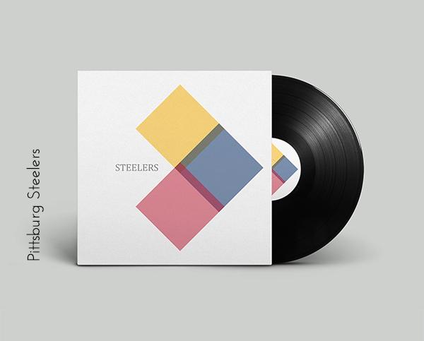 Pittsburgh Steelers vinyl cover