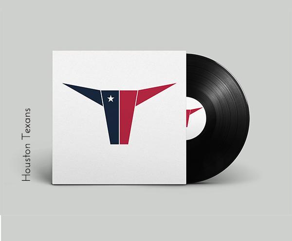 Houston Texans vinyl cover