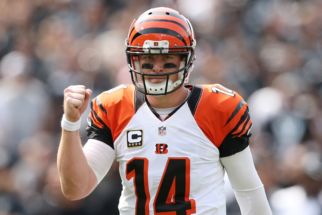 Andy Dalton has had some ugly playoff games