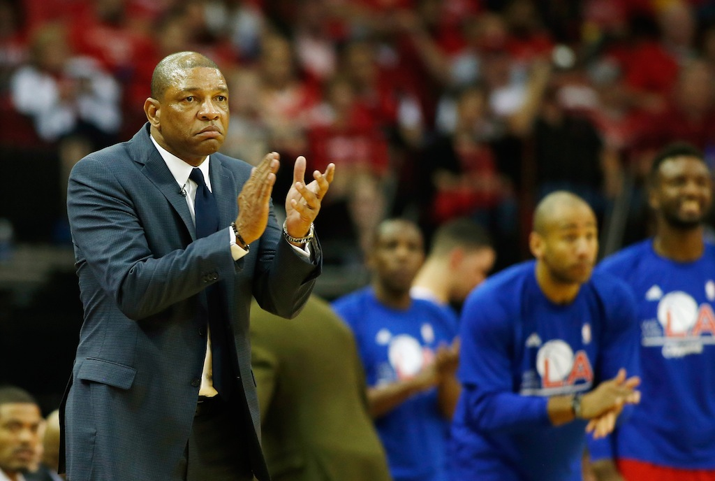 Doc Rivers coaching the Clippers