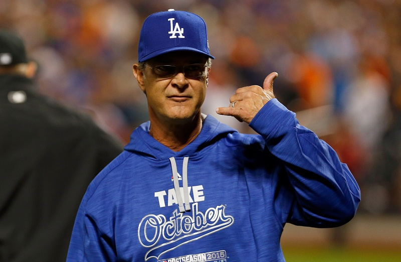 Mattingly Dodgers