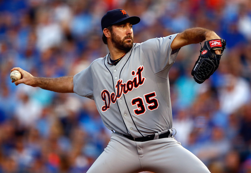 Justin Verlander had a big bounceback in 2016 for the Detroit Lions