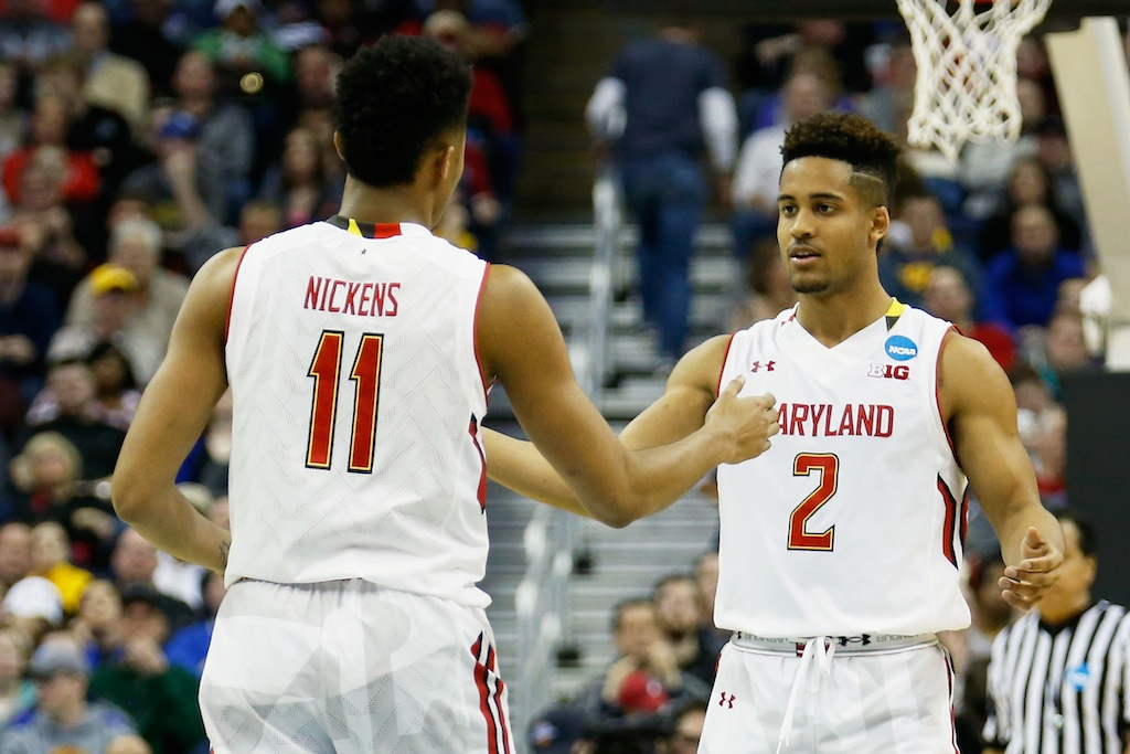 Maryland Terrapins during the NCAA Tournament