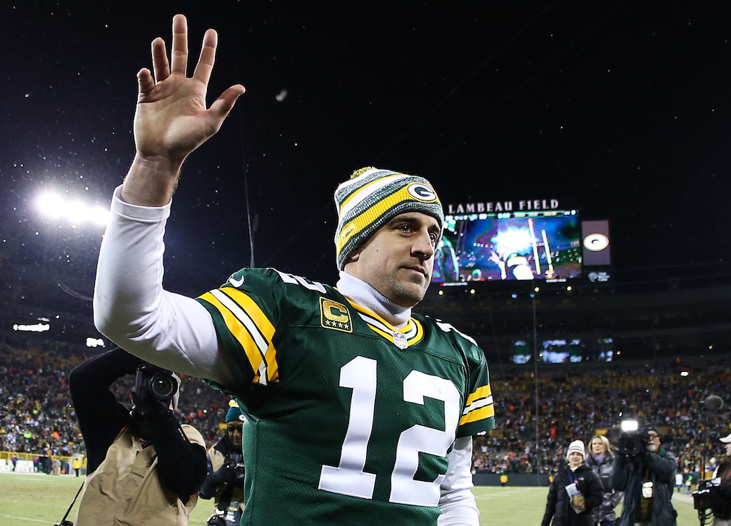 359b9514c Aaron Rodgers is already of the best Green Bay Packers players of all time.  | Chris Graythen/Getty Images