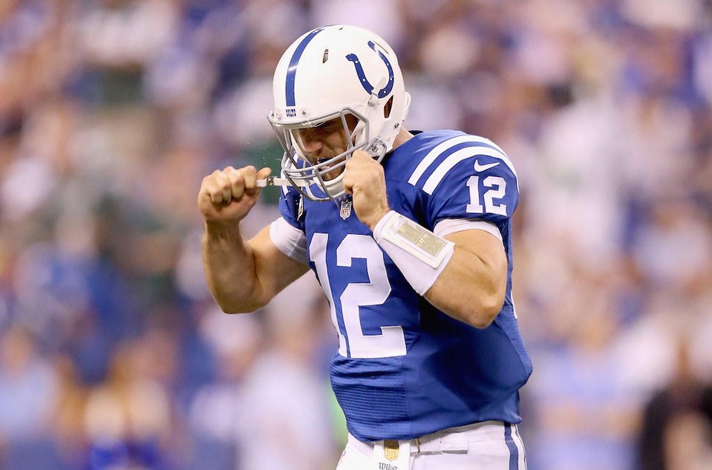 Andrew Luck Colts easiest schedules