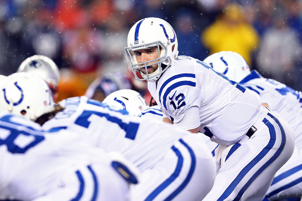 Andrew Luck, Indianapolis Colts