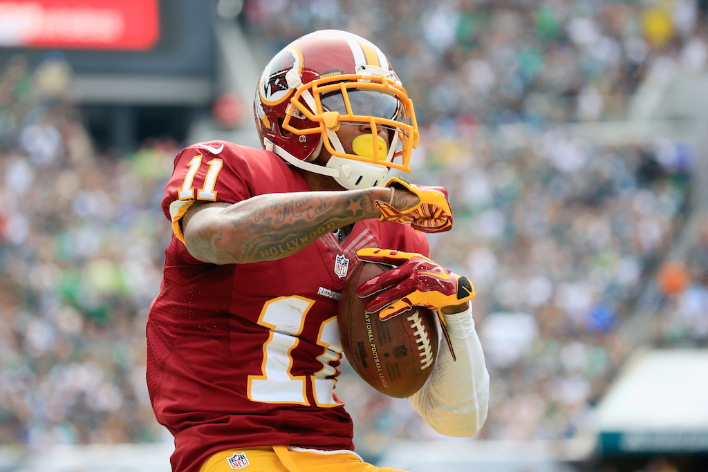 DeSean Jackson makes the catch