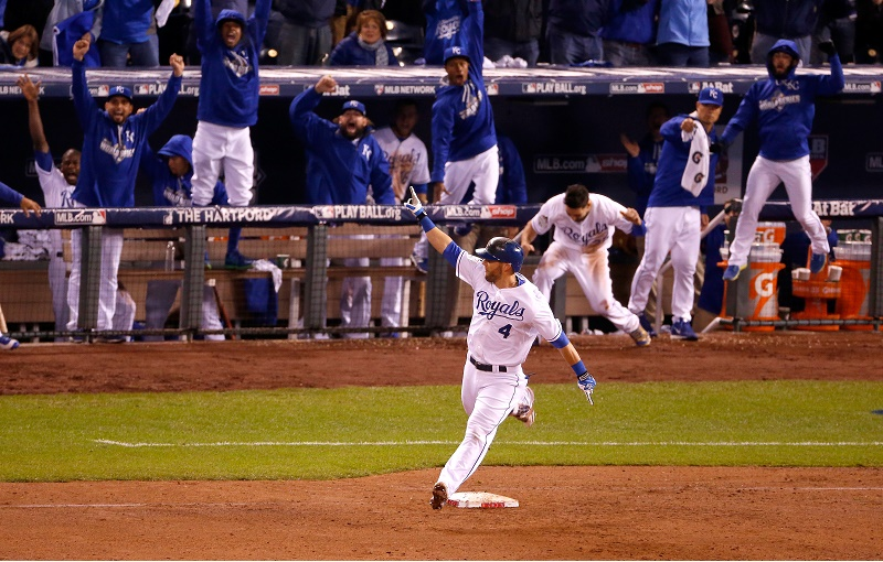 Alex Gordon WS Game One HR  Christian Petersen Getty Images