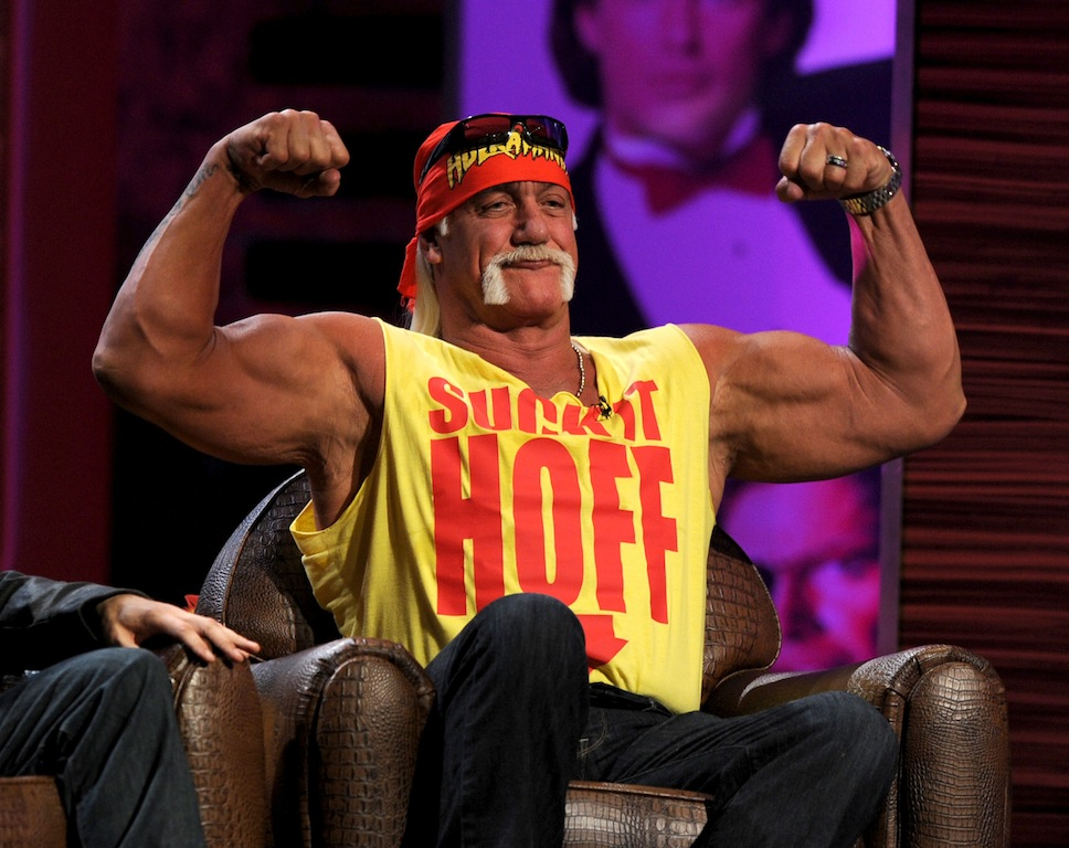 Hulk Hogan during the roast of David Hasselhoff