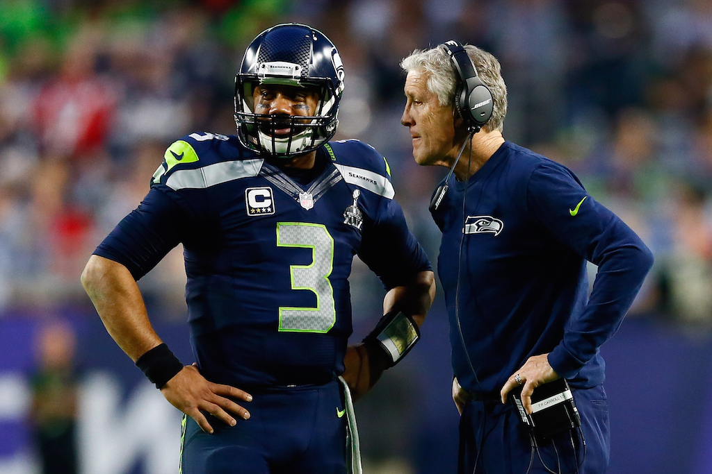 Russell Wilson took very little time to adjust to the NFL game