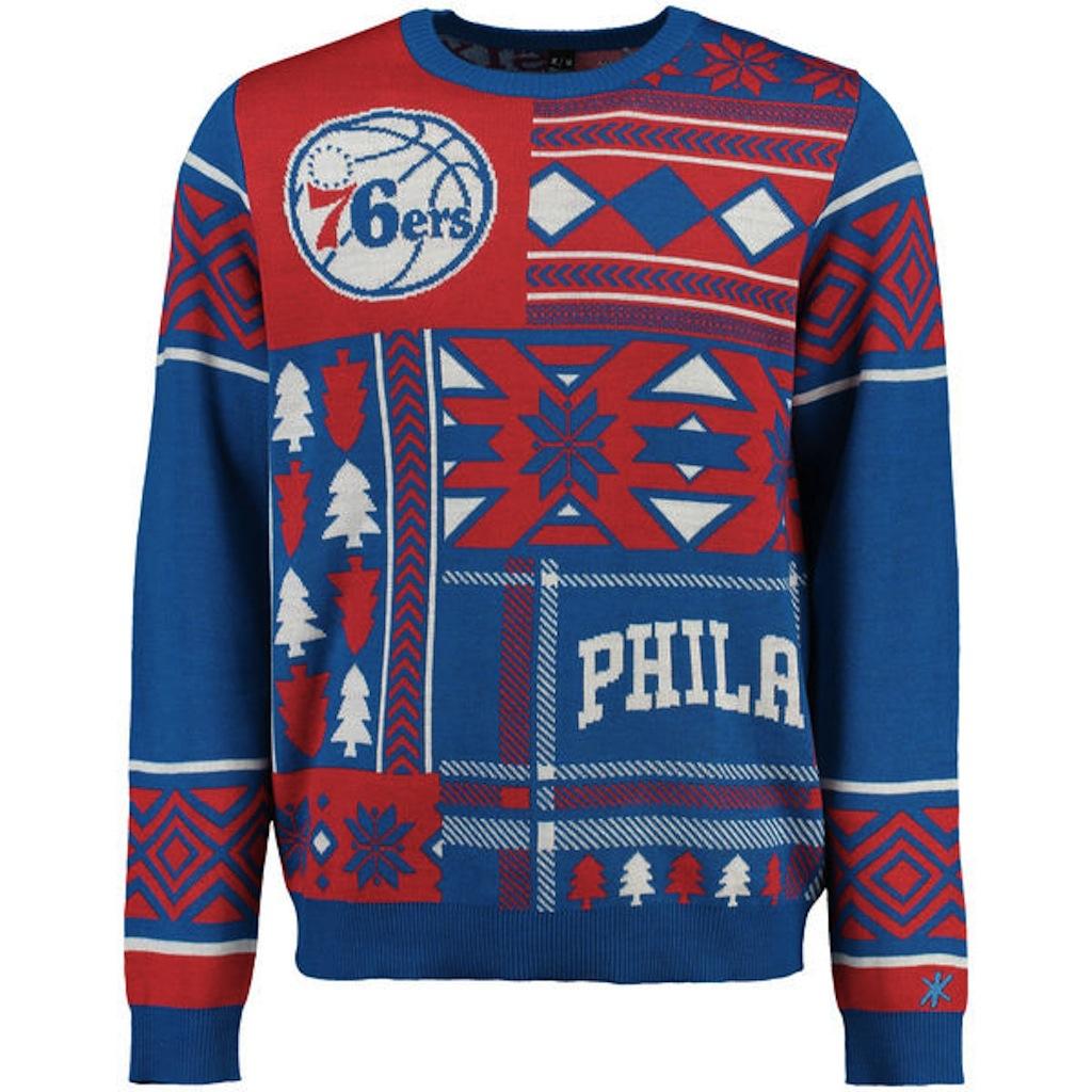 Philadelphia 76ers ugly sweater