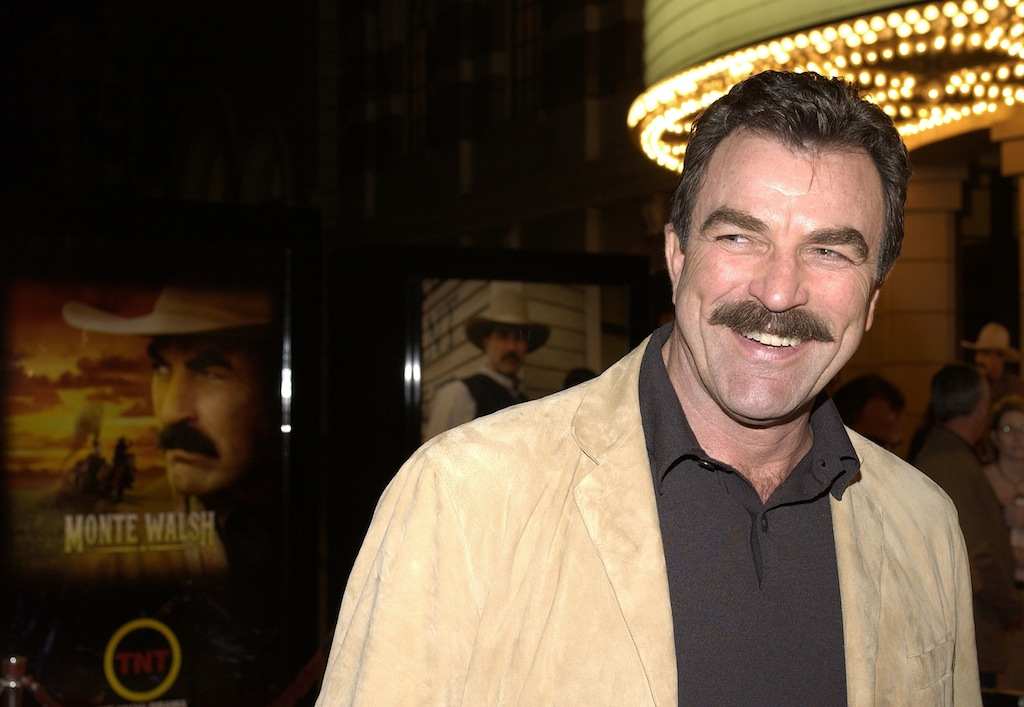 Tom Selleck at a premiere