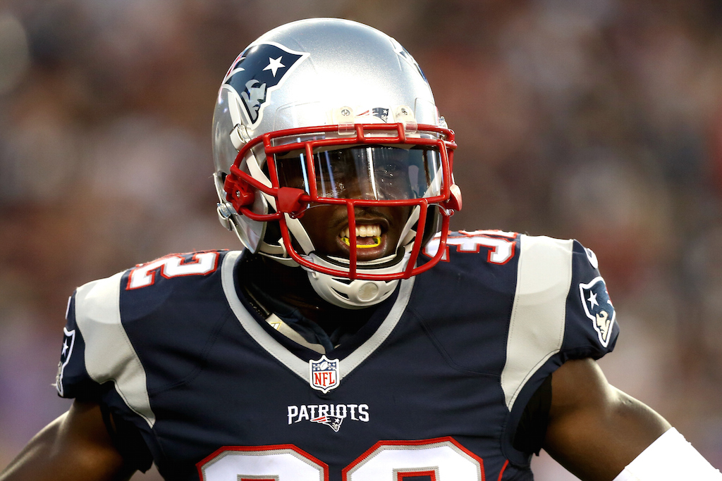 Devin McCourty during a preseason game